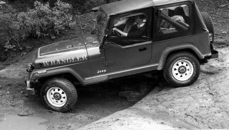 Jeep Wrangler, storia di un mito del fuoristrada - Foto 2 di 17