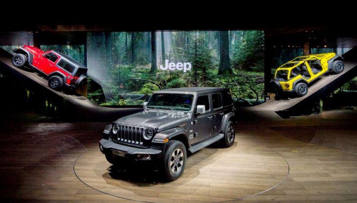 Nuovo Jeep Wrangler 2018, l'icona offroad cambia pelle - Foto 4 di 12
