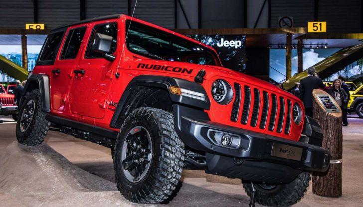 Nuovo Jeep Wrangler 2018, l'icona offroad cambia pelle - Foto 2 di 12