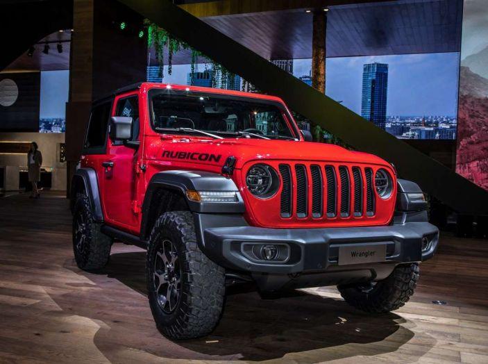 Nuovo Jeep Wrangler 2018, l'icona offroad cambia pelle - Foto 6 di 12