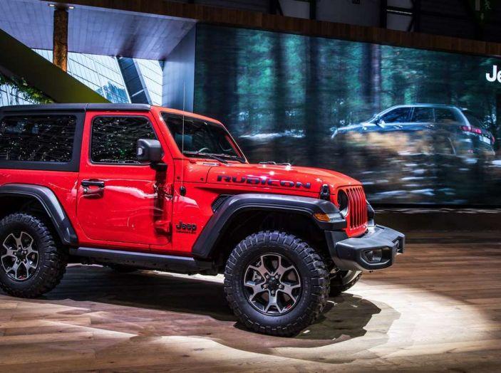 Nuovo Jeep Wrangler 2018, l'icona offroad cambia pelle - Foto 1 di 12