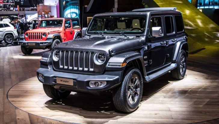 Nuovo Jeep Wrangler 2018, l'icona offroad cambia pelle - Foto 8 di 12