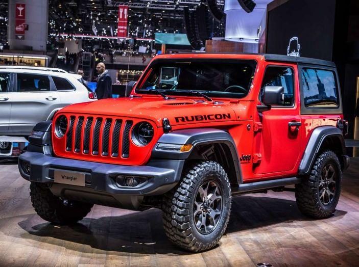 Nuovo Jeep Wrangler 2018, l'icona offroad cambia pelle - Foto 9 di 12