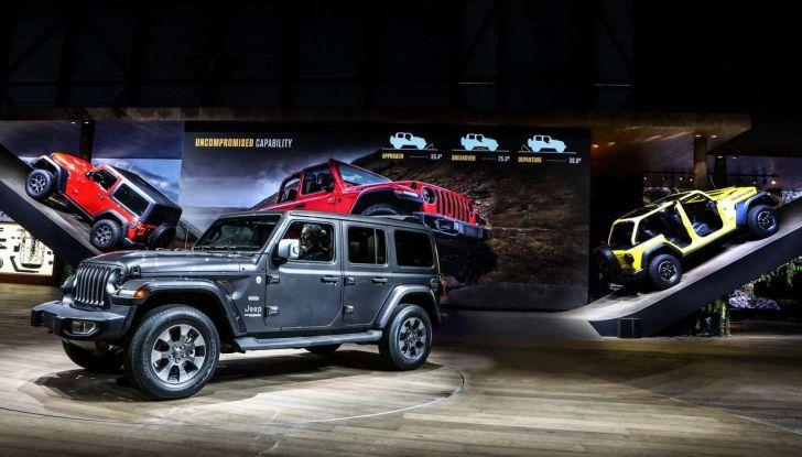 Nuovo Jeep Wrangler 2018, l'icona offroad cambia pelle - Foto 10 di 12