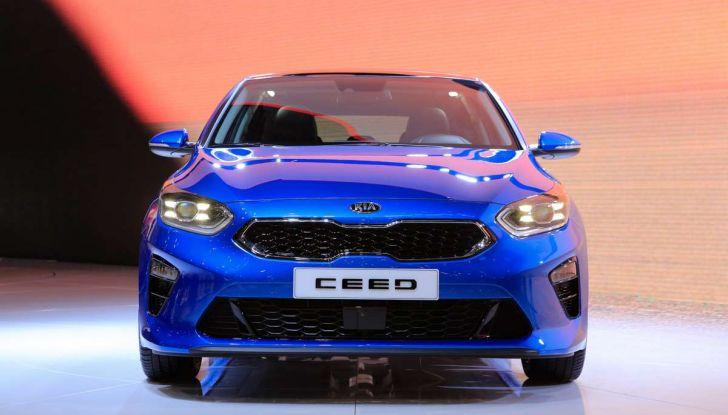 Kia Ceed 2018: nuovi motori e design inedito - Foto 4 di 17