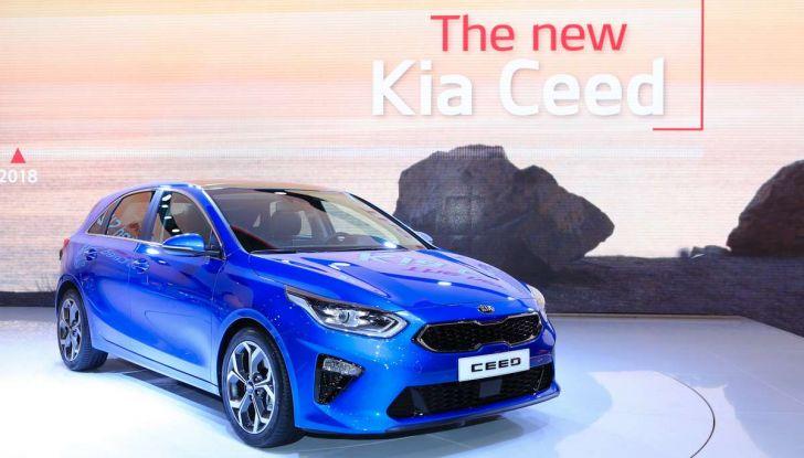 Kia Ceed 2018: nuovi motori e design inedito - Foto 9 di 17