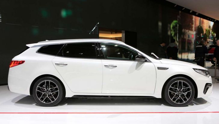 Kia Optima Restyling 2018 - Foto 2 di 9