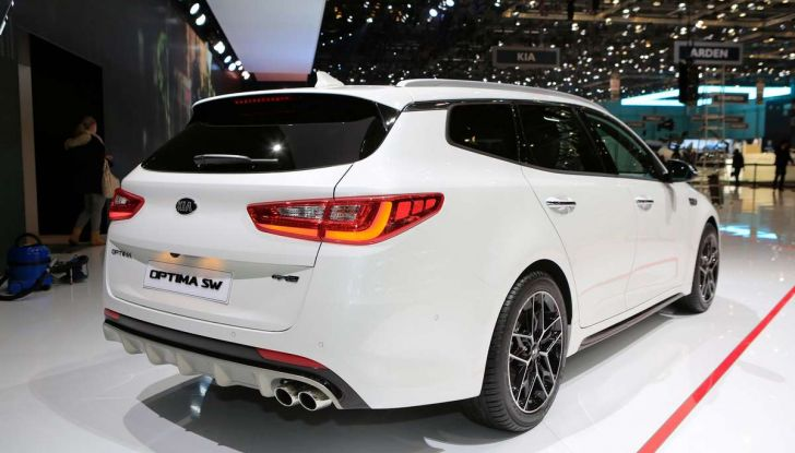 Kia Optima Restyling 2018 - Foto 5 di 9
