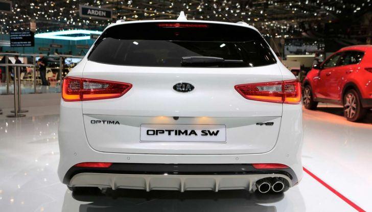 Kia Optima Restyling 2018 - Foto 6 di 9