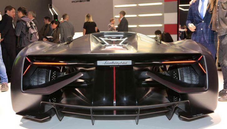 Lamborghini Terzo Millennio con carrozzeria auto-riparante - Foto 4 di 16