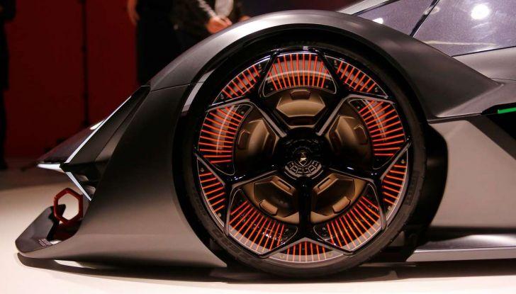 Lamborghini Terzo Millennio con carrozzeria auto-riparante - Foto 16 di 16