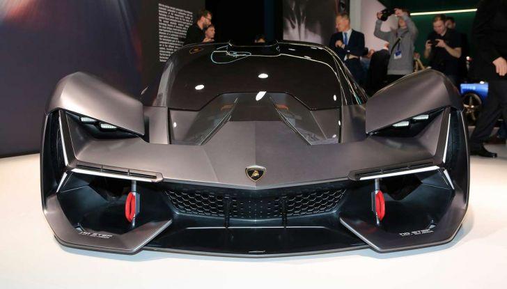Lamborghini Terzo Millennio con carrozzeria auto-riparante - Foto 8 di 16