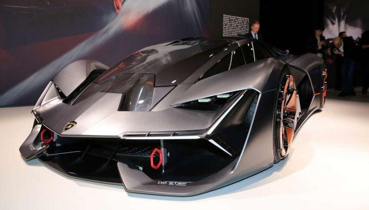 Lamborghini Terzo Millennio con carrozzeria auto-riparante - Foto 1 di 16