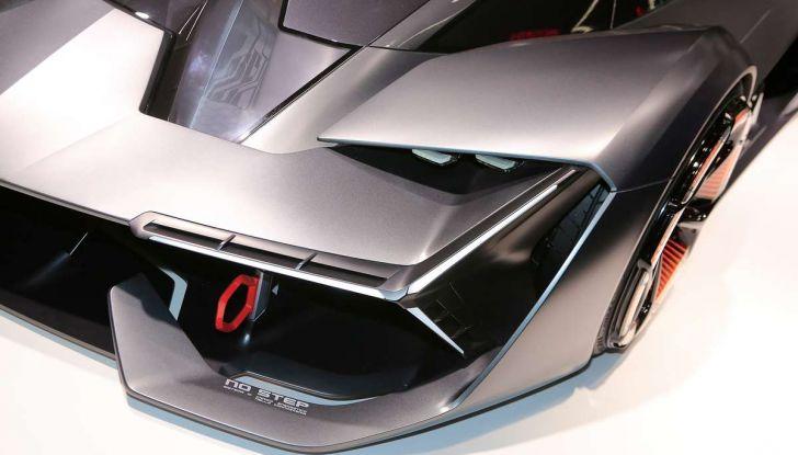 Lamborghini Terzo Millennio con carrozzeria auto-riparante - Foto 5 di 16