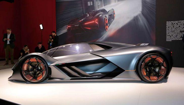 Lamborghini Terzo Millennio con carrozzeria auto-riparante - Foto 11 di 16