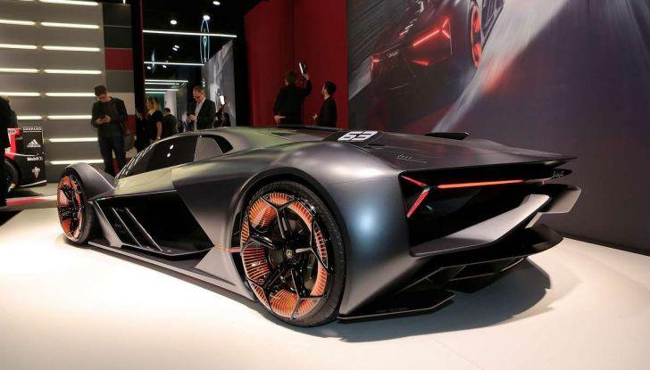 Lamborghini Terzo Millennio con carrozzeria auto-riparante - Foto 2 di 16