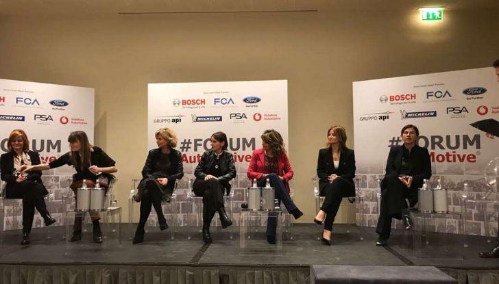 Le donne manager protagoniste al #FORUMAutoMotive 2018 - Foto 1 di 6