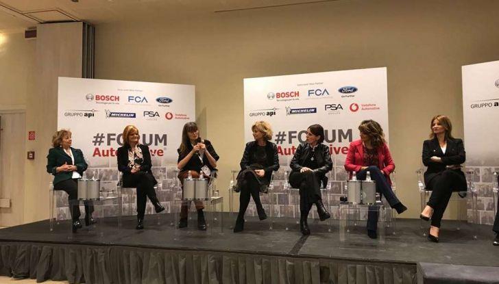 Le donne manager protagoniste al #FORUMAutoMotive 2018 - Foto 3 di 6