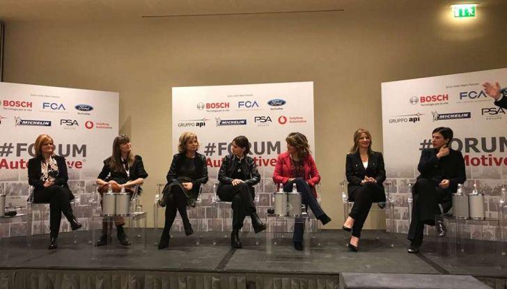 Le donne manager protagoniste al #FORUMAutoMotive 2018 - Foto 5 di 6