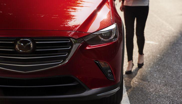 Mazda CX-3 2018, restyling d'autore per il Kodo Crossover - Foto 5 di 17