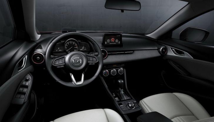 Mazda CX-3 2018, restyling d'autore per il Kodo Crossover - Foto 9 di 17