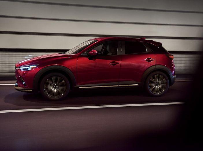 Mazda CX-3 2018, restyling d'autore per il Kodo Crossover - Foto 12 di 17