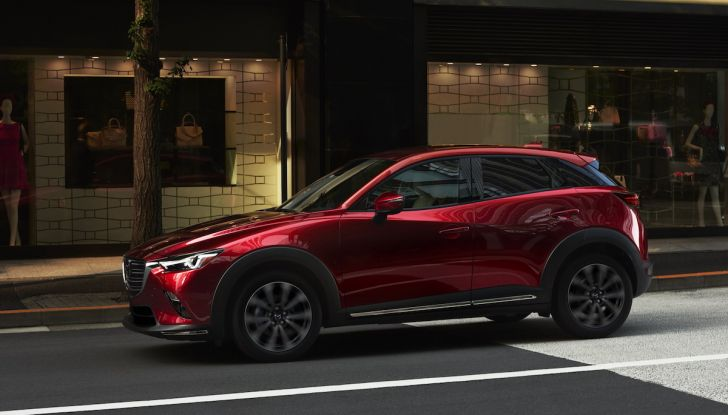 Mazda CX-3 2018, restyling d'autore per il Kodo Crossover - Foto 14 di 17
