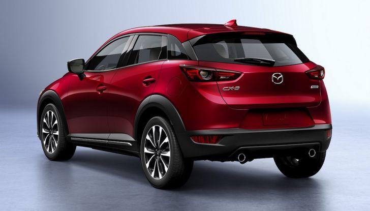 Mazda CX-3 2018, restyling d'autore per il Kodo Crossover - Foto 4 di 17