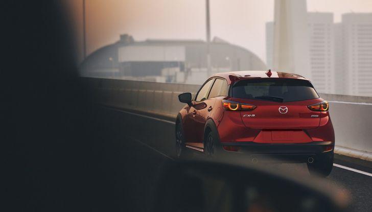 Mazda CX-3 2018, restyling d'autore per il Kodo Crossover - Foto 15 di 17
