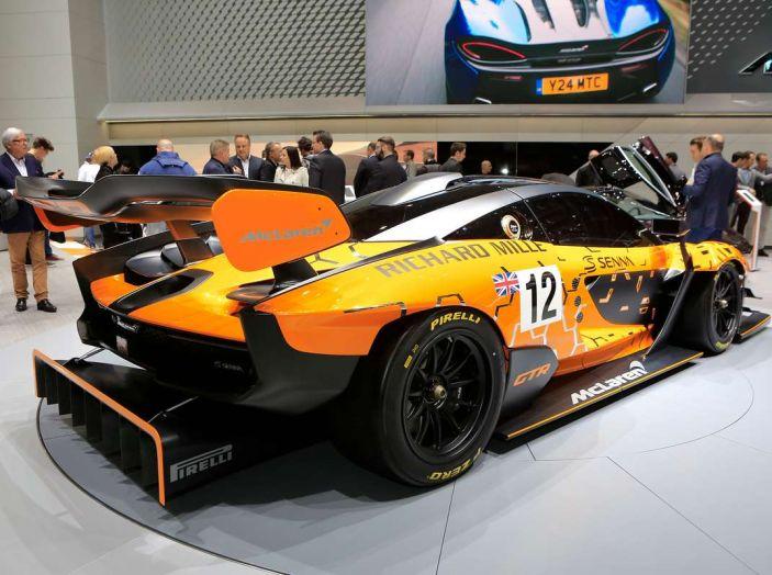 McLaren Senna GTR, edizione limitata da 75 esemplari - Foto 9 di 12