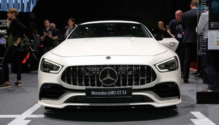 Mercedes AMG GT Coupé4, quattro porte per la sportiva della Stella - Foto 1 di 21