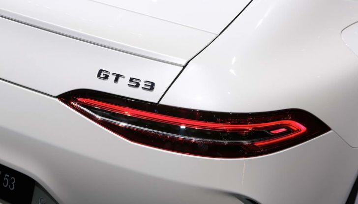 Mercedes AMG GT Coupé4, quattro porte per la sportiva della Stella - Foto 10 di 21