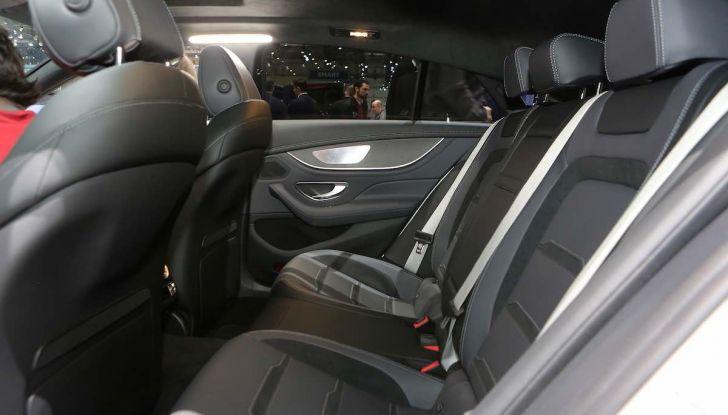 Mercedes AMG GT Coupé4, quattro porte per la sportiva della Stella - Foto 11 di 21