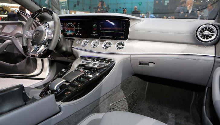 Mercedes AMG GT Coupé4, quattro porte per la sportiva della Stella - Foto 15 di 21