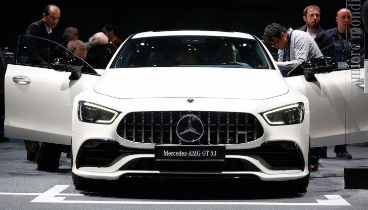 Mercedes AMG GT Coupé4, quattro porte per la sportiva della Stella - Foto 20 di 21