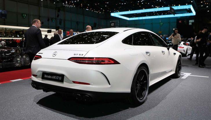 Mercedes AMG GT Coupé4, quattro porte per la sportiva della Stella - Foto 6 di 21