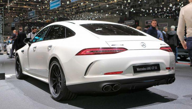 Mercedes AMG GT Coupé4, quattro porte per la sportiva della Stella - Foto 7 di 21