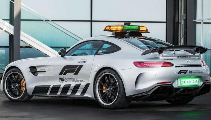 Mercedes AMG GT R è la Safety Car del mondiale Formula 1 - Foto 3 di 10