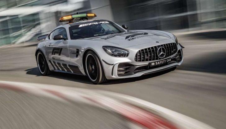 Mercedes AMG GT R è la Safety Car del mondiale Formula 1 - Foto 4 di 10