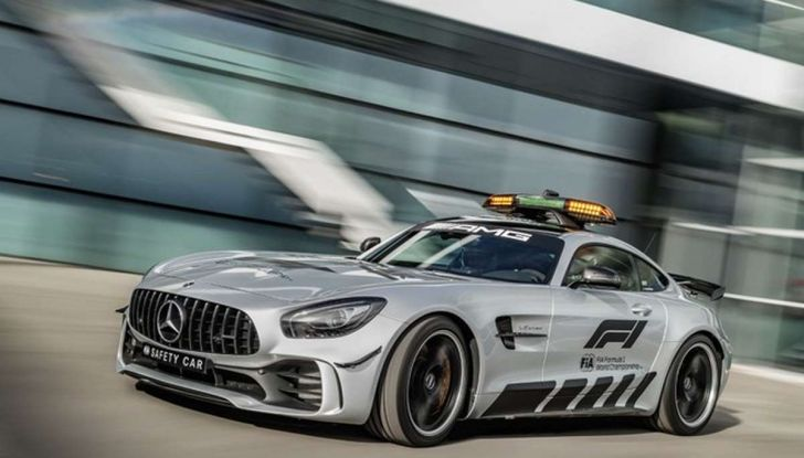Mercedes AMG GT R è la Safety Car del mondiale Formula 1 - Foto 5 di 10