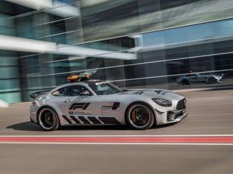 Mercedes AMG GT R è la Safety Car del mondiale Formula 1