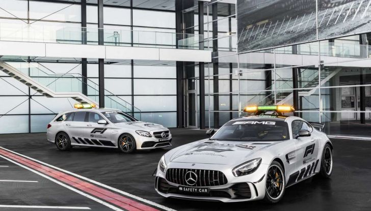 Mercedes AMG GT R è la Safety Car del mondiale Formula 1 - Foto 7 di 10