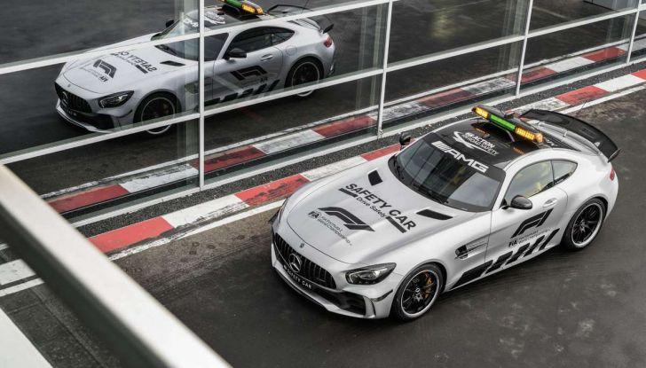 Mercedes AMG GT R è la Safety Car del mondiale Formula 1 - Foto 8 di 10