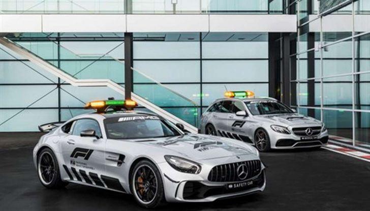Mercedes AMG GT R è la Safety Car del mondiale Formula 1 - Foto 10 di 10