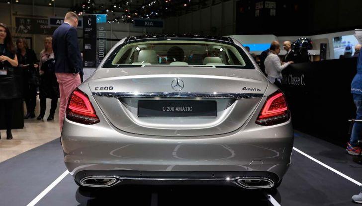 Mercedes Classe C Restyling 2018: nuovo corso per la regina della Stella - Foto 13 di 42