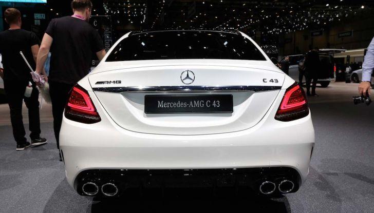 Mercedes Classe C Restyling 2018: nuovo corso per la regina della Stella - Foto 24 di 42