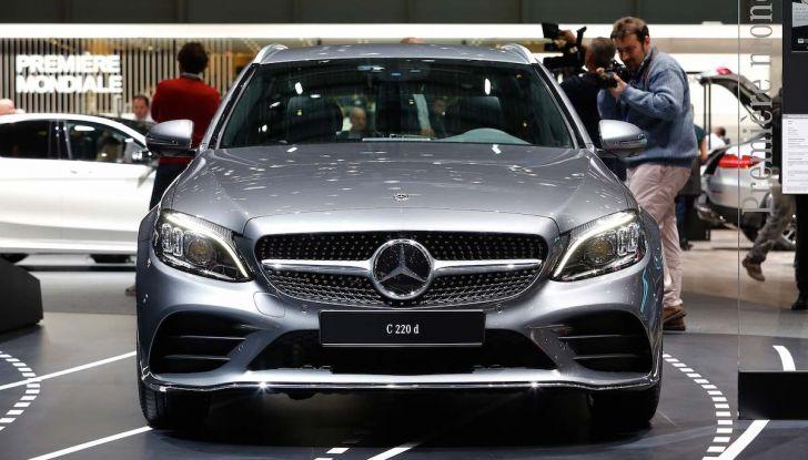 Mercedes Classe C Restyling 2018: nuovo corso per la regina della Stella - Foto 34 di 42