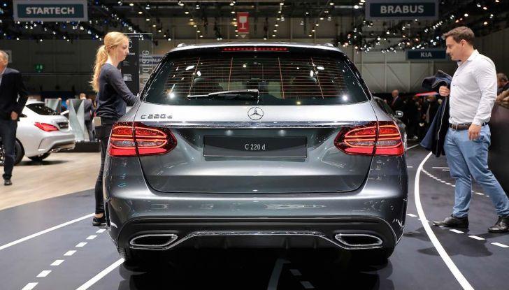 Mercedes Classe C Restyling 2018: nuovo corso per la regina della Stella - Foto 6 di 42