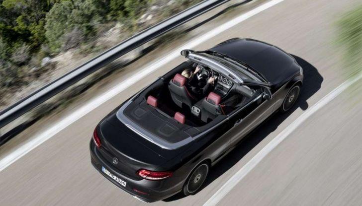 Mercedes Classe C Coupé e Cabrio 2018: più sportive ed efficienti - Foto 13 di 19