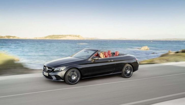 Mercedes Classe C Coupé e Cabrio 2018: più sportive ed efficienti - Foto 15 di 19
